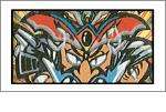 お化けWシール(魔界大戦)