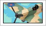 ブリキの戦闘機