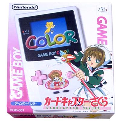 GAME BOY COLOR ゲームボーイ カラー カードキャプターさくら
