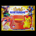 223626限定 ピカチュウ Nintendo64 オレンジ&イエロー