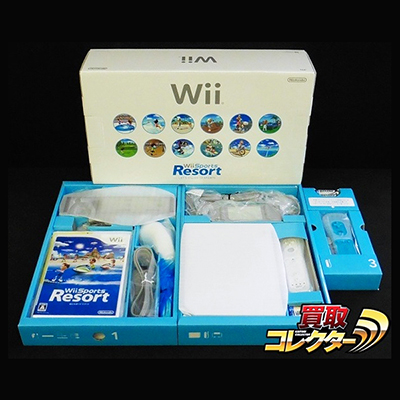Wii (白) Wii スポーツ リゾート 同梱セット