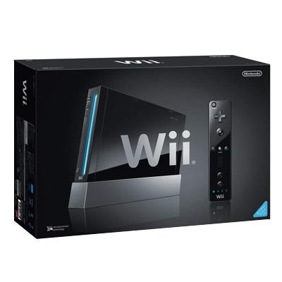 Wii Kuro 本体 (黒) RVL-S-KJ