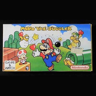 GAME&WATCH ゲームウオッチ マリオ・ザ・ジャグラー 国内未発売(マリオジャグラー)