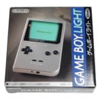 GAME BOY LIGHT ゲームボーイライト シルバー