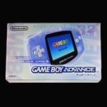 GAME BOY ADVANCE ゲームボーイアドバンス ミルキーブルー