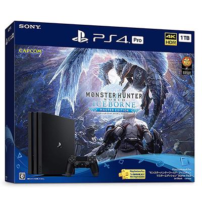 プレイステーション4 Pro/PS4 Pro モンスターハンターワールド アイスボーン マスターエディション Starter Pack