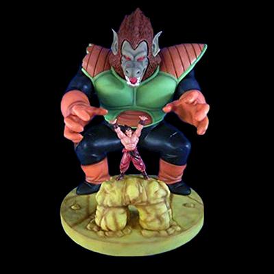 ドラゴンボールZ 大猿べジータジオラマモデル 孫悟空 界王拳Ver. 大猿ベジータ初期カラー仕様 限定50個