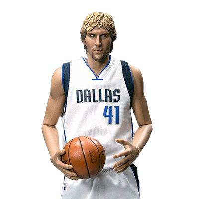 NBAコレクション リアルマスターピース 1/6 ダーク・ノビツキー