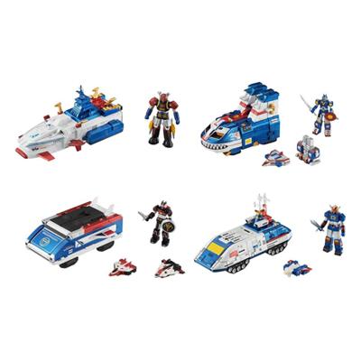 コスモフリートコレクションEX スーパー戦隊 レンジャーメカニクス メタリック 全4種