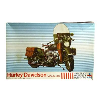 エッシー 1/9 ハーレーダビッドソン WLA-45 軍用オートバイ