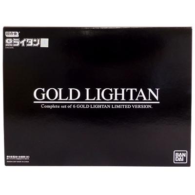 限定 バンダイ 超合金 復刻版 ゴールドライタン 6体セット