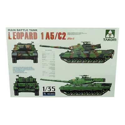 TAKOM 1/35 レオパルト 1A5/C2 2in1