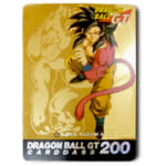 ドラゴンボールカードダス 本弾 30弾 No.200 SUPER SAIYAN4