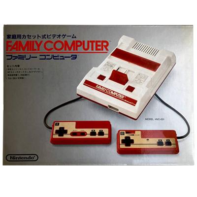 ファミリーコンピュータ HVC-001(四角ボタン)/ ファミコン