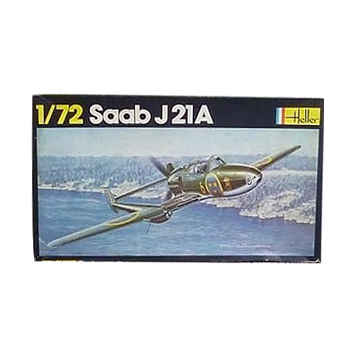 エレール 1/72 スウェーデン サーブ J21A