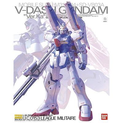 機動戦士Vガンダム MG 1/100 Vダッシュガンダム Ver.Ka