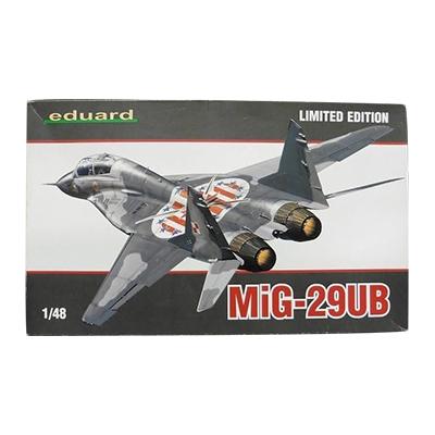 エデュアルド 1/48 MiG-29 UB 複座練習機型 ファルクラムB