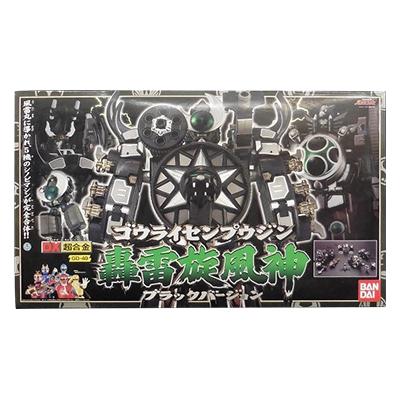 忍風戦隊ハリケンジャー DX超合金 GD-49 轟雷旋風神 ブラックバージョン