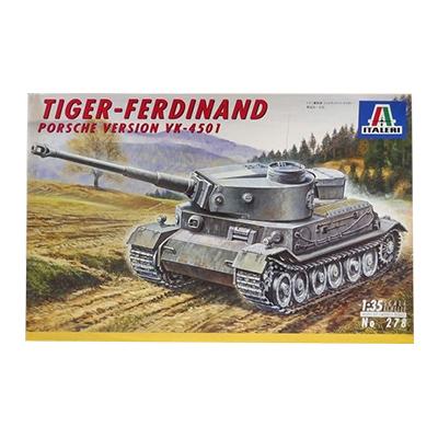 イタレリ 1/35 ドイツ重戦車 フェルディナント・タイガー