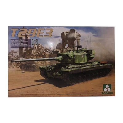 TAKOM 1/35 アメリカ試作重戦車 T29E3