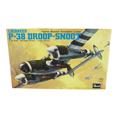 レベル 1/32 ロッキード P-38 ドループ・スヌート