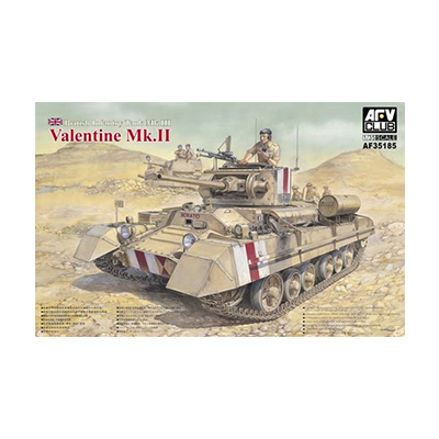 AFVクラブ 1/35 歩兵戦車 バレンタインMk.II