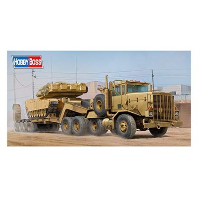 ホビーボス 1/35 アメリカ M911戦車運搬車 w.M747重装備セミトレーラー