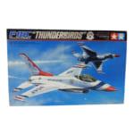 タミヤ エアークラフトシリーズNo.16 1/32 F-16C サンダーバーズ ディスプレイモデル