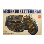 ハセガワ 1/9 ミリタリーオートバイシリーズ No.2 NSU HK-101 ドイツ・ケッテンクラート/ミリタリー プラモ