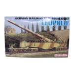 230505ドラゴン 1/35 ドイツ軍 28cm 列車砲 K5 LEOPOLD レオポルド