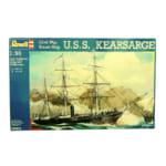 レベル 1/96 Civil War 蒸気船 U.S.S. キアサージ