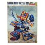 230525アオシマ スーパーミニ合体セット 無敵超人ザンボット3