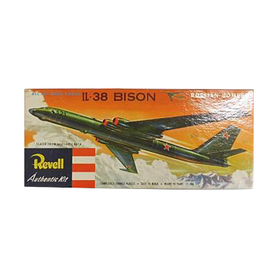 """レベル IL-38 BISON バイソン ロシア 爆撃機 TYPE """"S"""" 貼箱"""