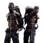 ウォーキング・デッド Michonne's Pet Walker Twin Pac アクションフィギュア