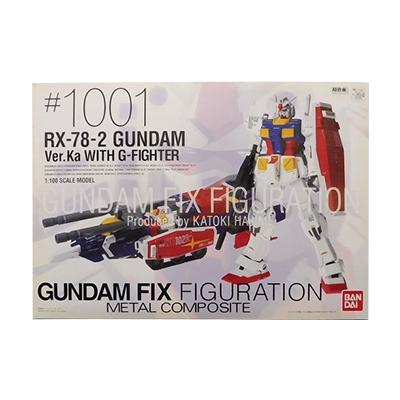 GUNDAM FIX FIGURATION メタルコンポジット GFFMC #1001 RX-78-2 ガンダム Ver.Ka WITH G-ファイター