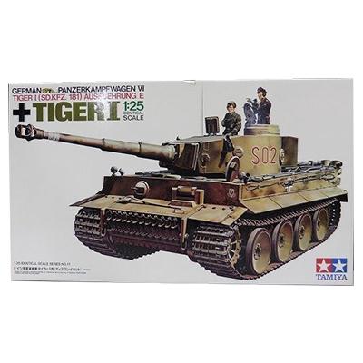 タミヤ 1/25 ドイツ陸軍重戦車タイガーⅠ型 ディスプレイキット/戦車プラモデル