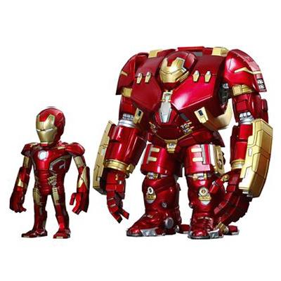 アーティストMIX TOUMA×アイアンマン・マーク43(バトルダメージ版)&ハルクバスター デラックスセット / アベンジャーズ/エイジ・オブ・ウルトロン