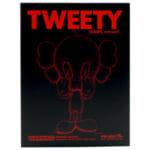 OriginalFake オリジナルフェイク トゥイーティー KAWS version ブラック / カウズ ルーニー・テューンズ TWEETY