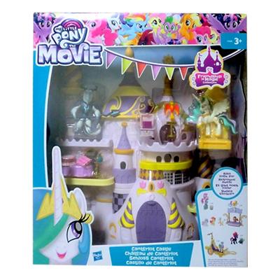 ハズブロ(Hasbro) フレンドシップイズマジックコレクション キャンタロット城 / マイリトルポニー プリンセスセレスティア