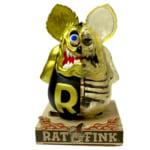 ラットフィンク X-RAY フルカラー マットブラック ゴールドver. MOONEYES × SECRETBASE / Ratfink