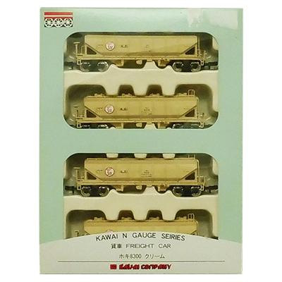 河合商会 カワイ Nゲージ KP-257 ホキ8300 クリーム 4両セット