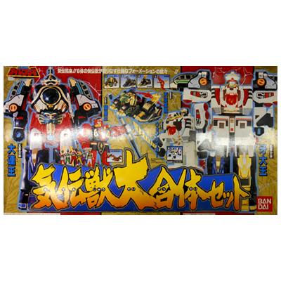五星戦隊ダイレンジャー 気伝獣大合体セット / スーパー戦隊 合体ロボ