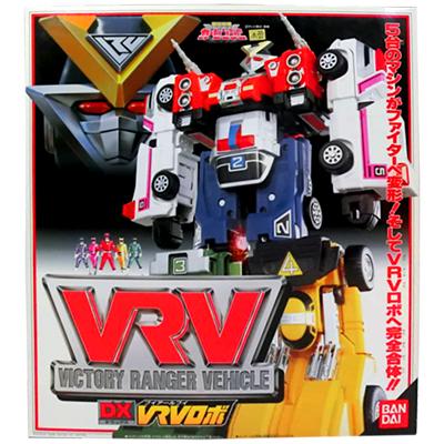 激走戦隊カーレンジャー激走合体 DX VRVロボ / スーパー戦隊 合体ロボ