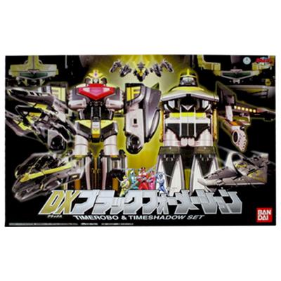 未来戦隊タイムレンジャー バンダイ DXブラックフォーメーション / スーパー戦隊 合体ロボ