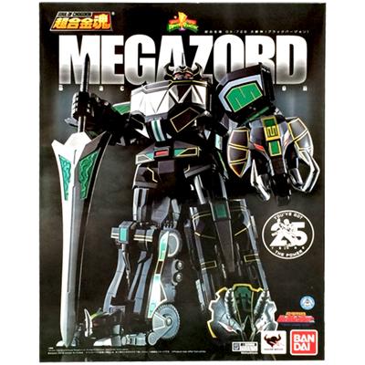 マイティ・モーフィン パワーレンジャー バンダイ 超合金魂 GX-72B メガゾード 大獣神 ブラックVer.