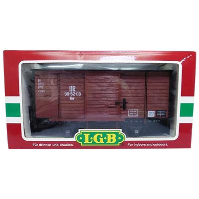 レーマン LGB Gゲージ 46350 DR ドイツ国営鉄道 有蓋車 / 貨車
