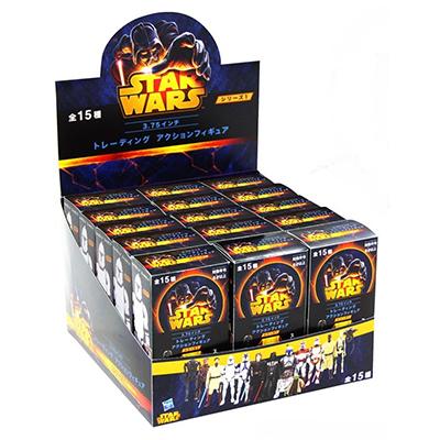 日本限定 スター・ウォーズ ハズブロアクションフィギュア 3.75インチ トレーディング・フィギュアシリーズ1 全15種