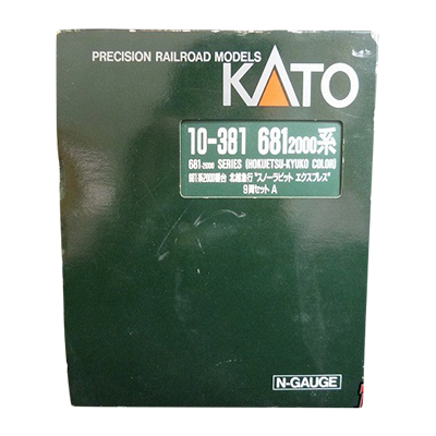 KATO Nゲージ 10-381 681系 2000番台 北越急行 スノーラビット エクスプレス 9両セット
