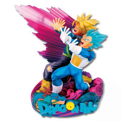 アミューズメント一番くじ ドラゴンボール超 SUPER MASTER STARS DIORAMA II THE BRUSH II賞 ベジータ&トランクス