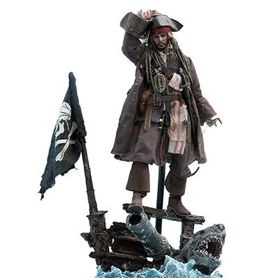 ムービーマスターピースDX パイレーツ・オブ・カリビアン/最後の海賊 ジャック・スパロウ 1/6スケールフィギュア